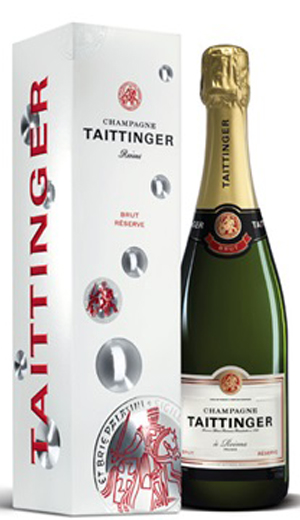 Taittinger Brut Reserva in a gift box
