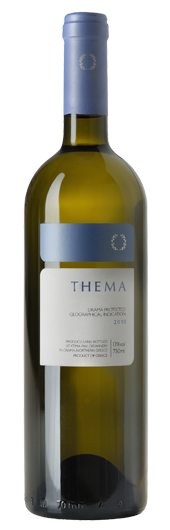 THEMA White Asyrtico and Sauvignon Blanc