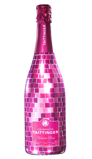 Taittinger Nocturne Sec NV Disco Bottle