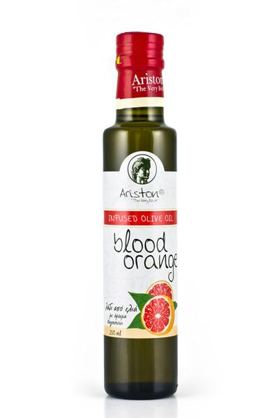 Инфузия на Extra Virgin маслиново масло Аристон с червен портокал