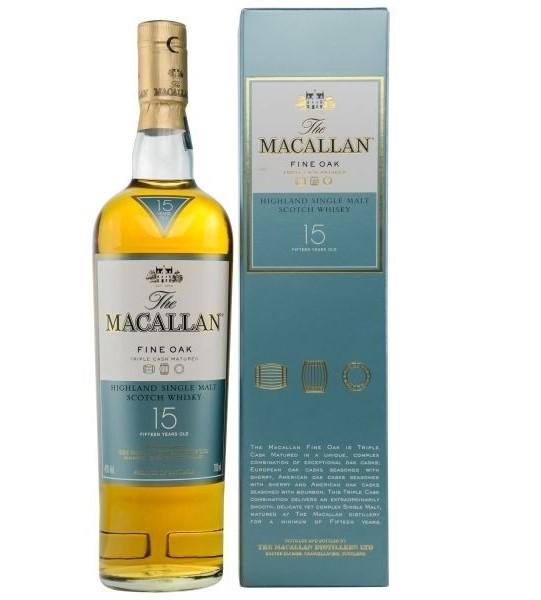 Макалан Fine Oak 15 Year