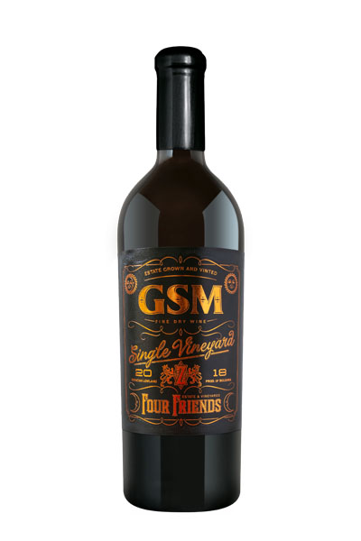Фор Френдс GSM Single Vineyard