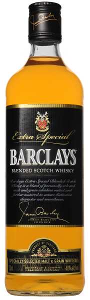 BARCLAYS Blended Scotch Whisky