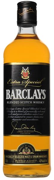 BARCLAYS Blended Scotch Whisky