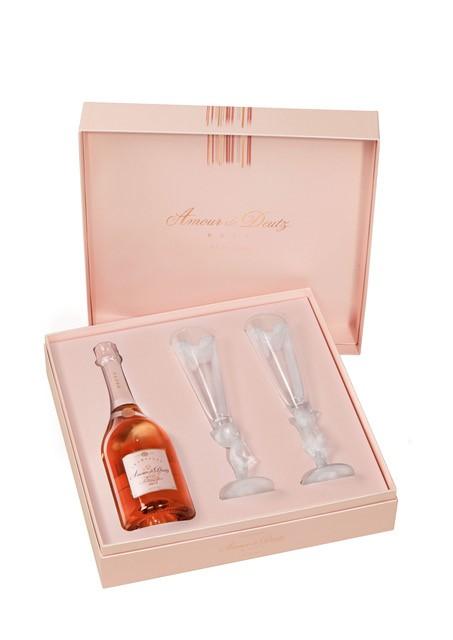 Amour de Deutz Розе с 2 чаши