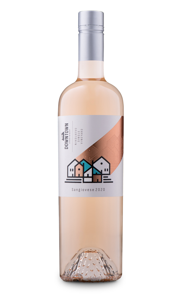 Розе от Санджовезе Downtown Urban Winery