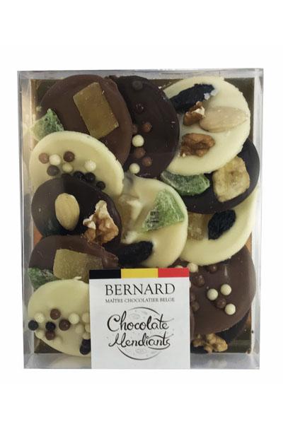 Шоколадови мендианти Bernard  микс 185гр