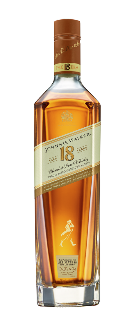 Johnnie Walker Aged 18 Years Blended Scotch Whisky